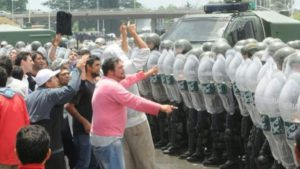 Represión en Cresta Roja: una política de Estado.