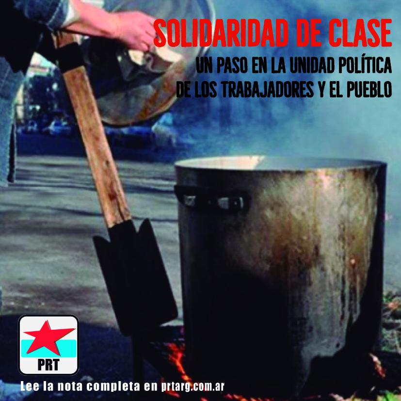 Solidaridad, unidad y rebeldía desde lo local a lo nacional