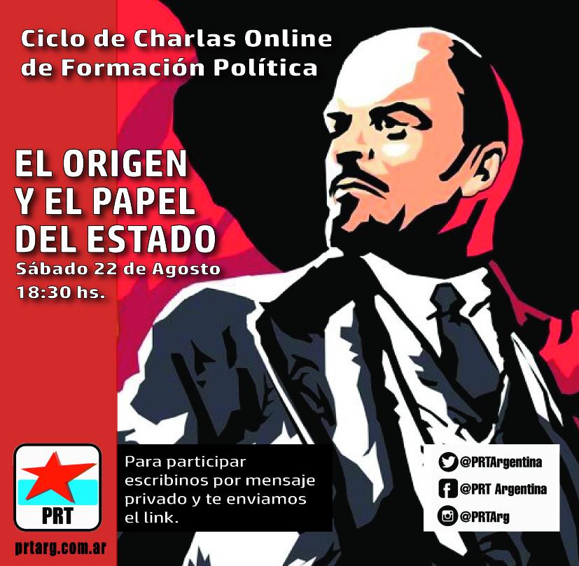 Ciclo de charlas online de formación política