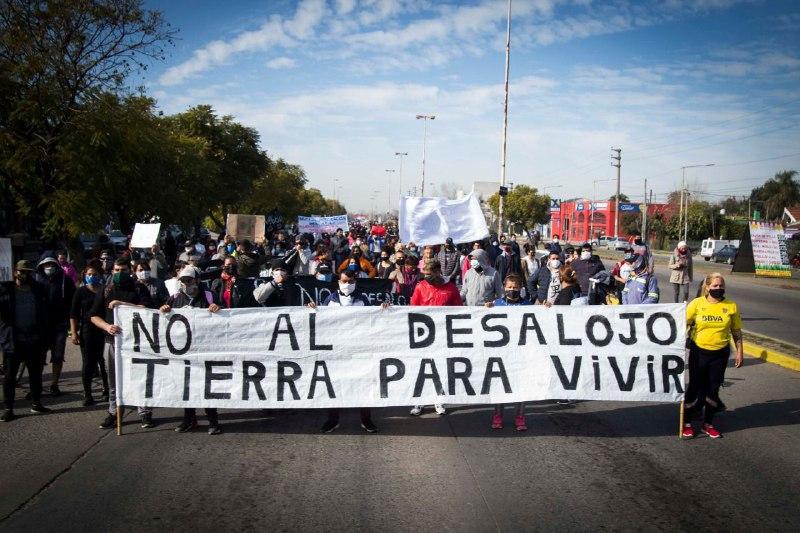 Situación de la toma de Guernica. Cuando no existe el derecho, existe la violencia no digan que no lo advertimos.