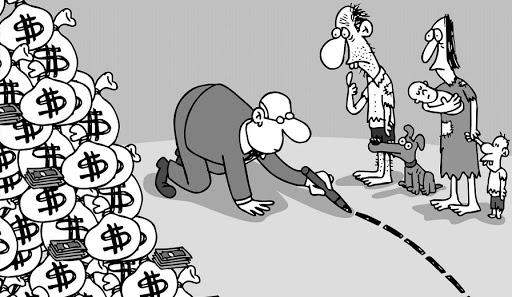 El monumental ajuste que lleva a cabo la oligarquía financiera mundial es la aplicación sistemática de una política