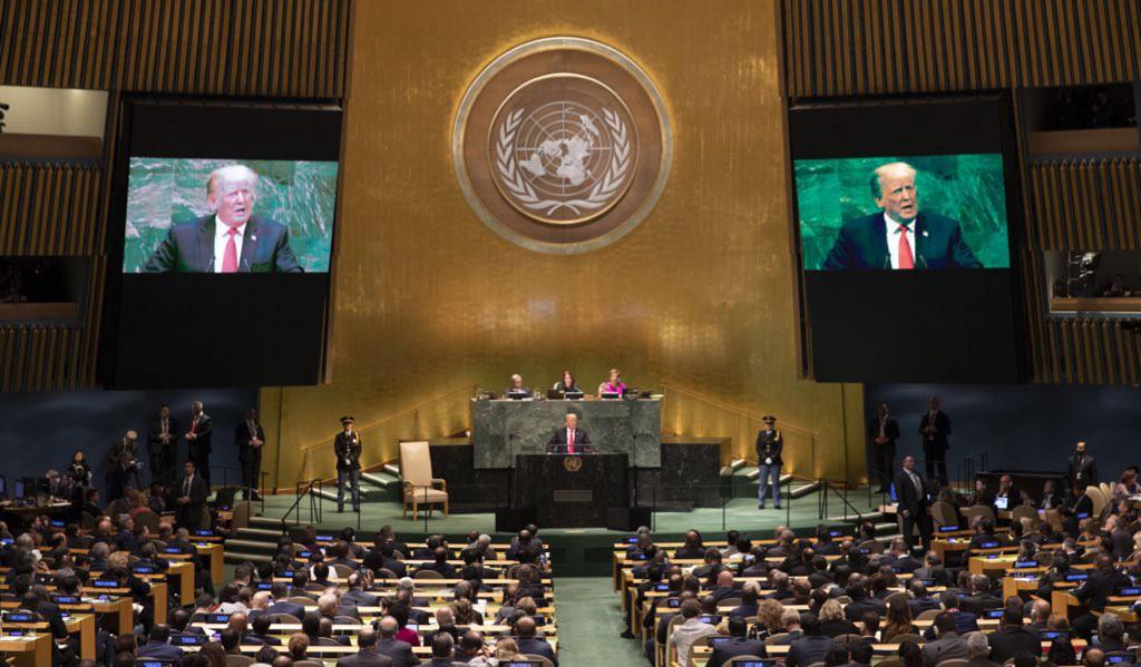 Discursos en la ONU (o cómo la vida está pasando por otro lado)