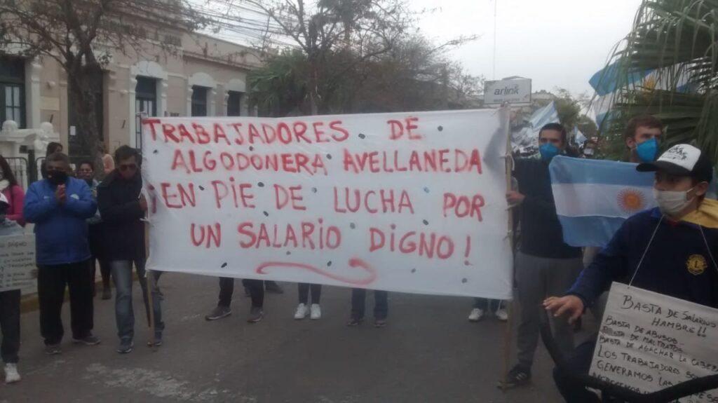 Algunas reflexiones sobre la lucha de los obreros de Algodonera Avellaneda