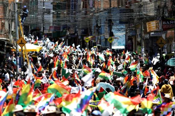 Bolivia: presente y futuro en manos del pueblo movilizado