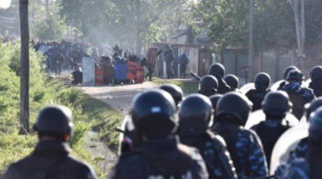URGENTE: Desalojo y represión en Guernica