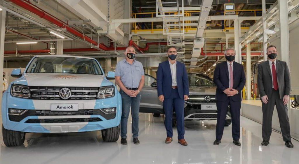 Alberto Fernández en Volkswagen: una clara muestra de Capitalismo Monopolista de Estado