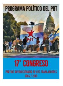 ¿Qué es un Programa Político revolucionario?