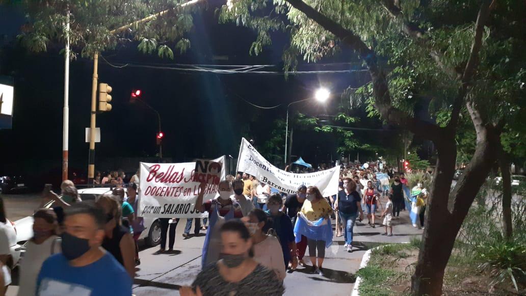 Chaco: ajuste, entrega e indignación de maestras y maestros